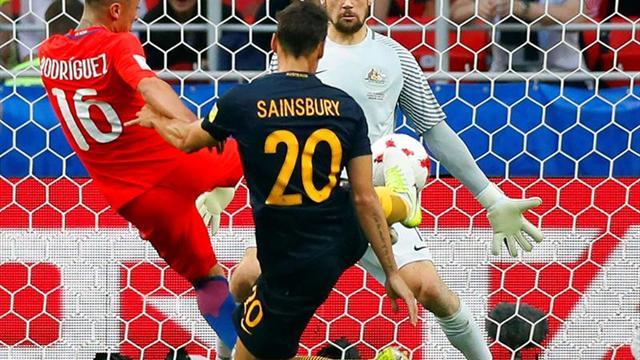1-1. Chile sufre ante Australia y jugará en semifinales contra Portugal
