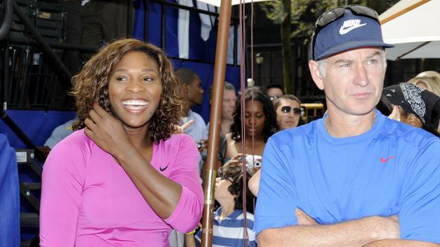Williams tacle McEnroe: