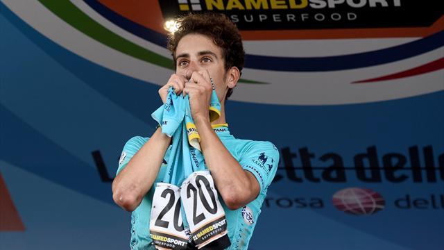 Fabio Aru si laurea campione italiano ad Ivrea