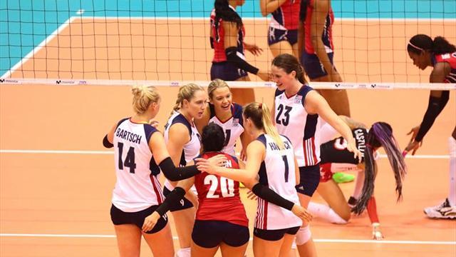 Estados Unidos conquista su quinto título de la Copa Panamericana de Voleibol