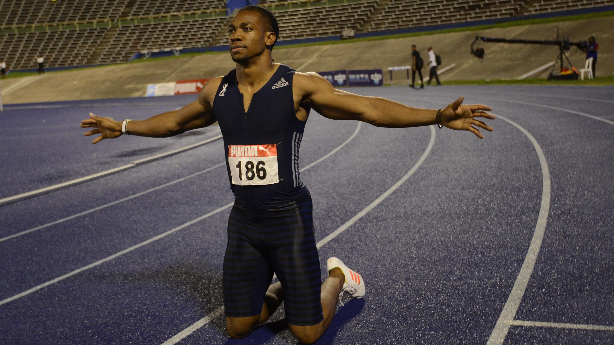 Yohan Blake returns to sub-20 club to complete Jamaican sprint double - Athletics - Eurosport