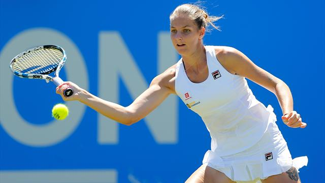 Women's round-up: Pliskova sisters through, Ostapenko recovers from second-set bagel to progress