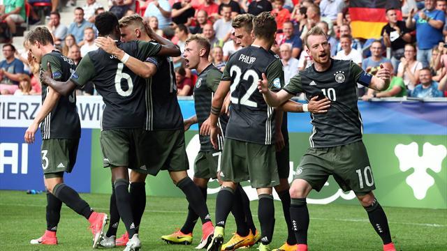 La Germania di rigore sull'Inghilterra: tedeschi in finale all'Europeo under 21