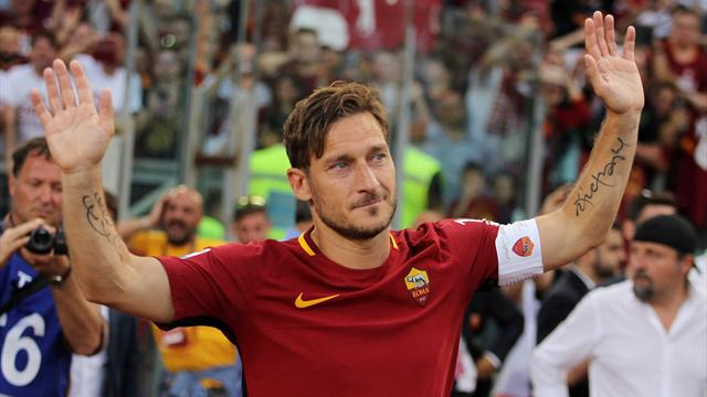 Francesco Totti confirms retirement and takes up directorship role at Roma