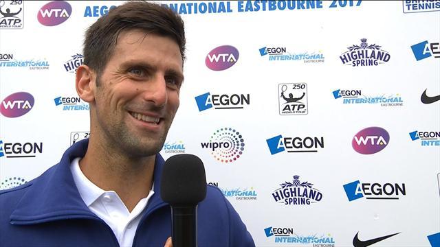 """Djokovic : """"Il faut utiliser chaque minute de son temps pour s'ajuster"""""""