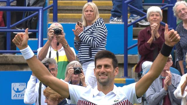 Atp Eastbourne: Djokovic doma Monfils in finale