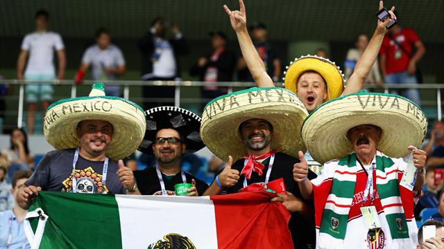 Мексиканский фанат сказал жене, что идет в магазин за сигаретами, а сам улетел на Кубок Конфедераций