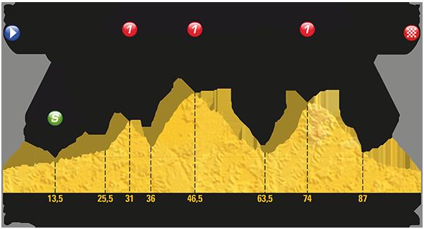 Tour: Das Profil der 13. Etappe