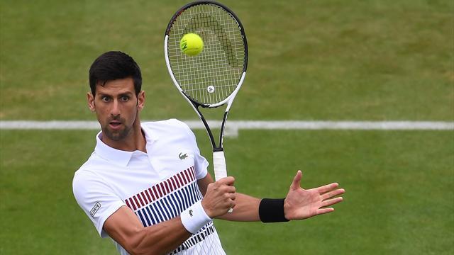 ATP Eastbourne (cuartos de final), Djokovic-Young: En semis, a medio gas 6-2 y 7-6(9)