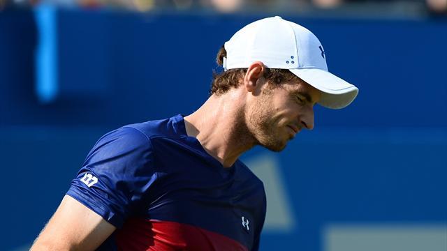 Inquiétude pour Murray, touché à une hanche