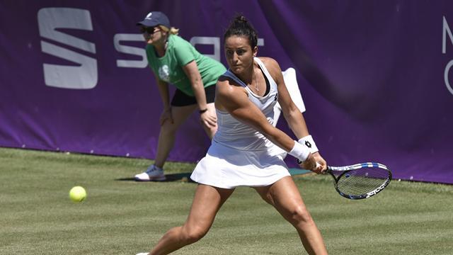 Lara Arruabarrena cae con claridad ante Angelique Kerber, número uno del mundo 6-2 y 6-1