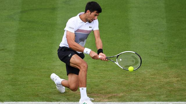 Djokovic supera a Medvedev por un doble 6-4 y ya está en la final del ATP Eastbourne