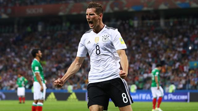 Прямая трансляция полуфинального матча Кубка Конфедераций Германия-Мексика