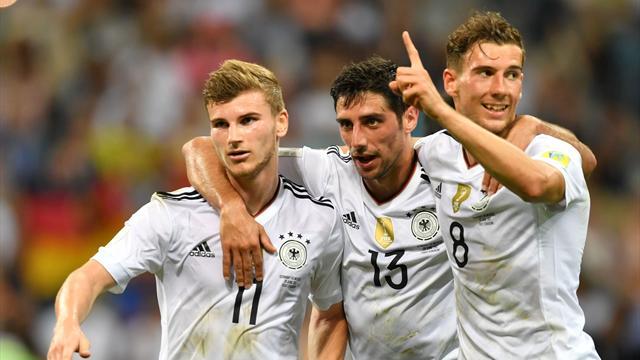 La Germania cala il poker contro il Messico: tedeschi per la prima volta in finale