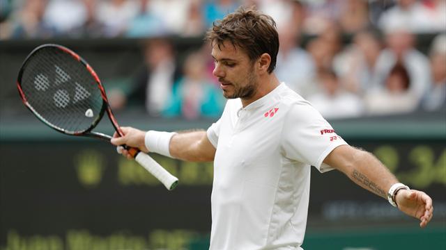 Wawrinka se prend encore les pieds dans le gazon — Wimbledon