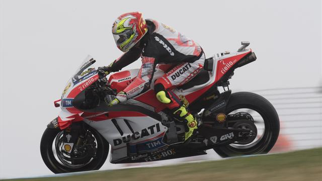 Barbera tops Sachsenring FP2 after showers