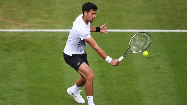 Sigue en directo la final de Eastbourne entre Novak Djokovic y Gael Monfils