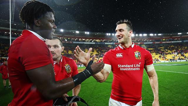 Lions beat All Blacks to level up series after Williams dismissed