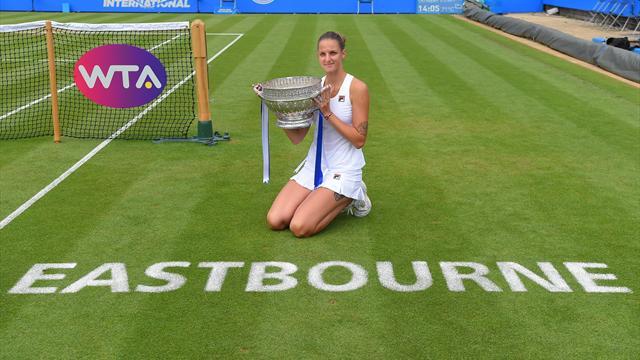 Sacrée, Pliskova se place pour Wimbledon