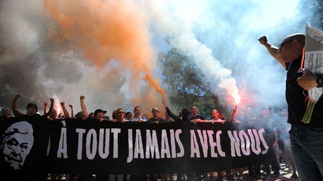 «Ohé, ohé, ohé, Loulou» : l'hommage des supporters montpelliérains à Nicollin