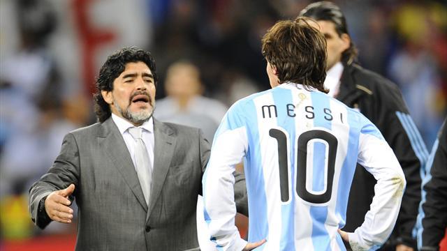 """""""Il est temps de lui foutre la paix"""" : Maradona conseille à Messi de renoncer à la sélection"""