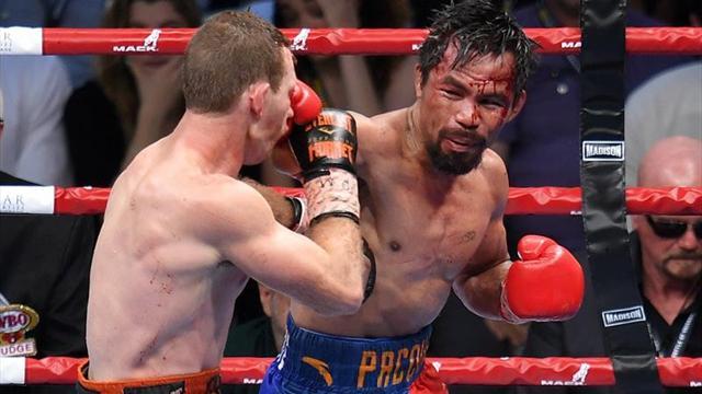 Horn sorprende a Pacquiao y le arrebata el título welter tras una polémica decisión