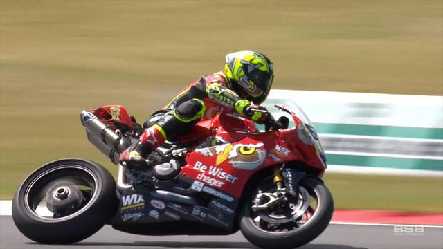Byrne holds off Brookes to take win in Race 1