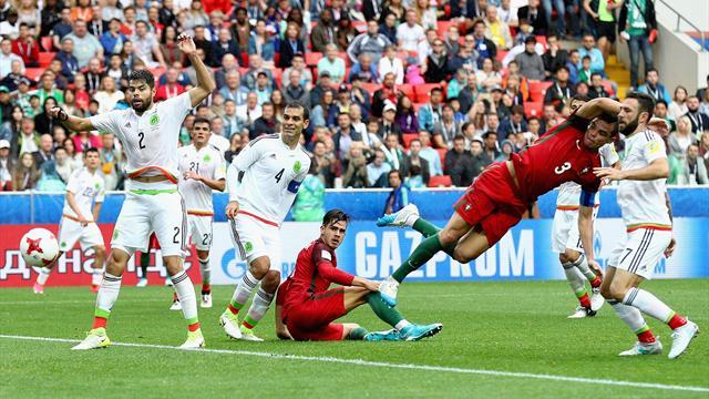 Portugal-México: Pepe se vistió de Cristiano para forzar la prórroga y luego llegó la victoria (2-1)