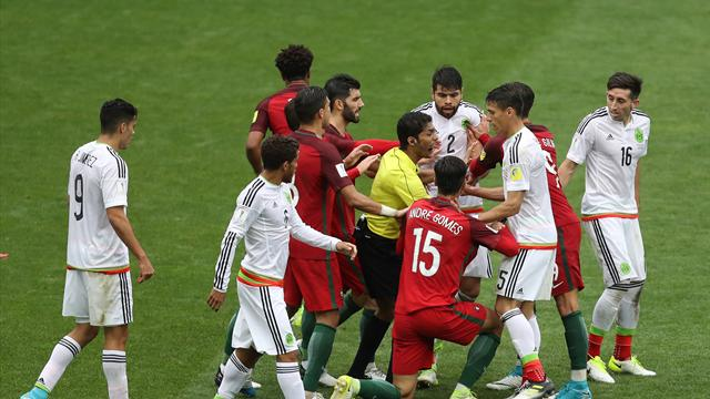 Portugal finish third at Confederations Cup after extra-time win over Mexico