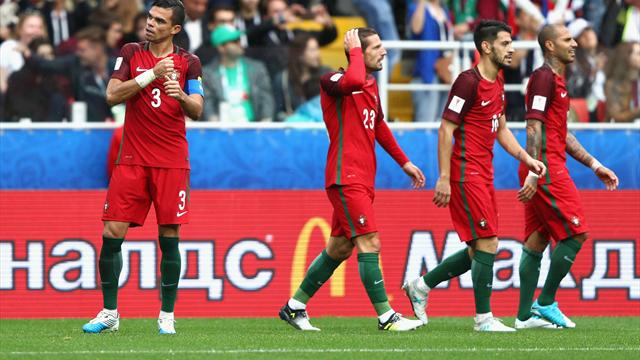 """Le Portugal se """"console"""" en terminant sur le podium"""