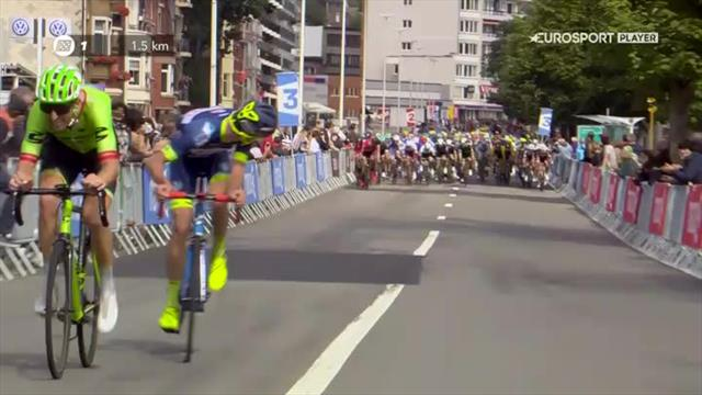 VIDEO - İlk sprintte zafer Marcel Kittel'in