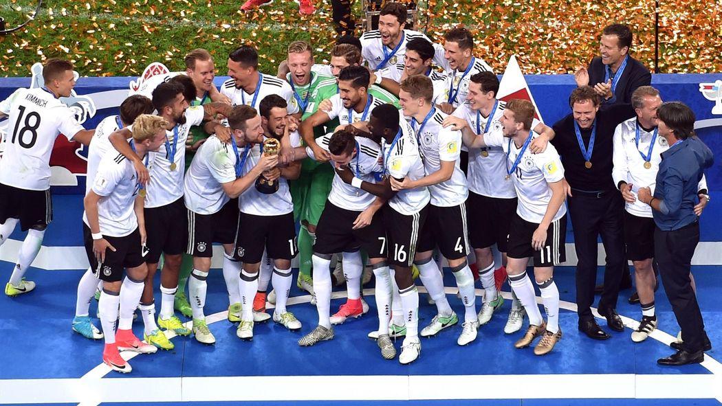 Fifa Confederations Cup 2017 Deutschland Gewinnt Finale Gegen Chile