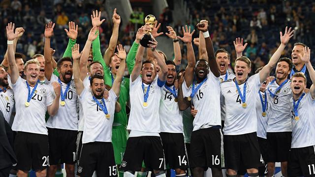 Dans la douleur, l'Allemagne complète sa collection