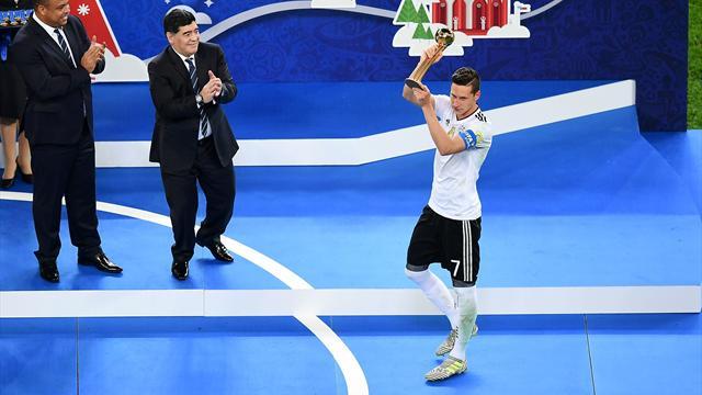 Draxler élu Ballon d'or du tournoi