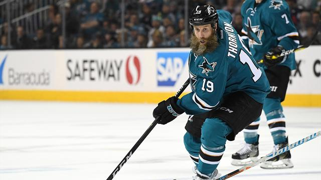 Клуб НХЛ «Сан-Хосе» продлил договор сТорнтоном наодин сезон