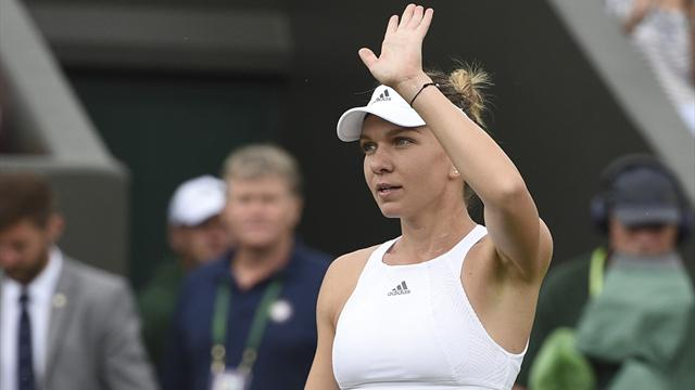 Halep eases past Erakovic to reach second round