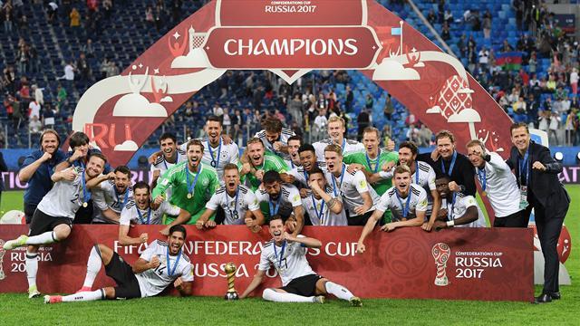 Сборная Германии возглавила рейтинг ФИФА впервые за 2 года