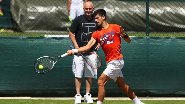 Agassi : «Est-ce que Djokovic a besoin d'une pause? Non je pense qu'il est prêt»