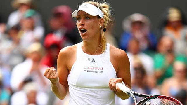 World number one Kerber battles past qualifier Falconi