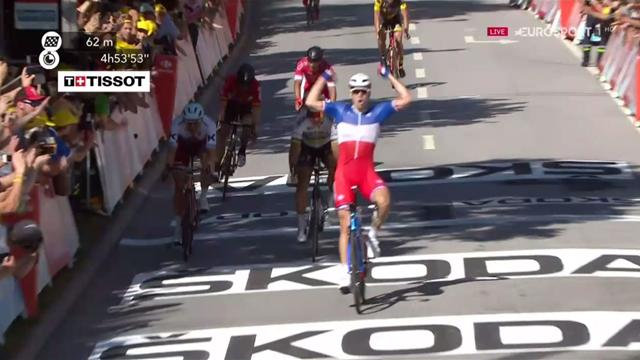 Peter Sagan se quedó con la tercera etapa
