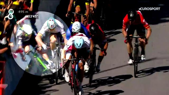 Cavendish in horrible high-speed crash after Sagan elbow