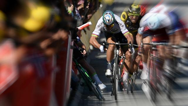 Sagan'ın Cavendish'e attığı dirseğin faturası kesildi: Diskalifiye