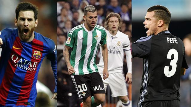 Messi, Ceballos y Pepe, los nombres del dí