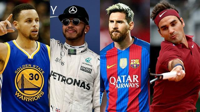 Ronaldo, Curry, Hamilton: i 10 sportivi più pagati al mondo nel 2017