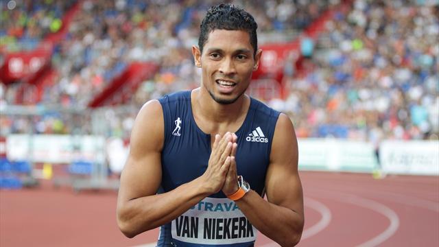 VIDEO: Van Niekerk sets fastest time of the year in dominant 400m win