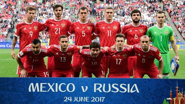 Игроки сборной России не получат премиальные за участие в Кубке Конфедераций