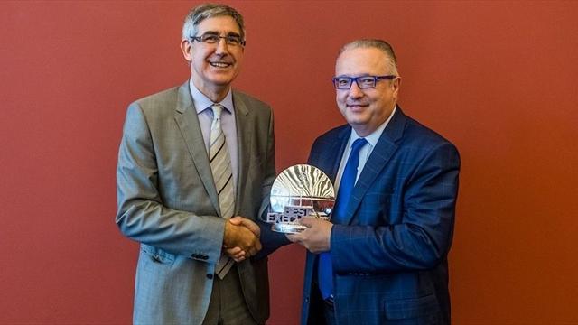 EuroLeague'de yılın yöneticisi Maurizio Gherardini