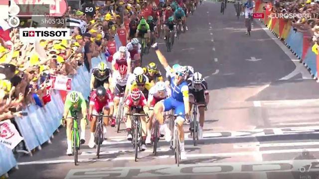 Tour de France, Fabio Aru scala la classifica: ora è secondo