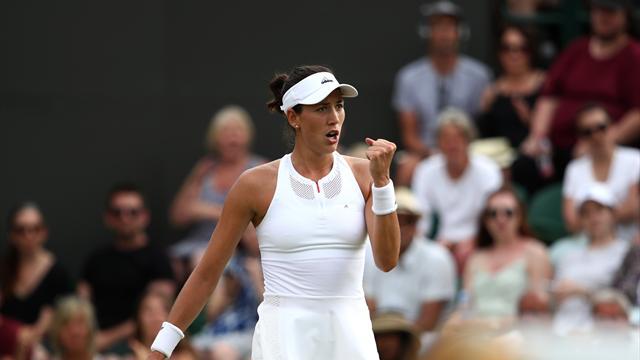 Muguruza vence a Kerber por segunda vez en Wimbledon