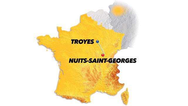 Slik er 7. etappe av Tour de France